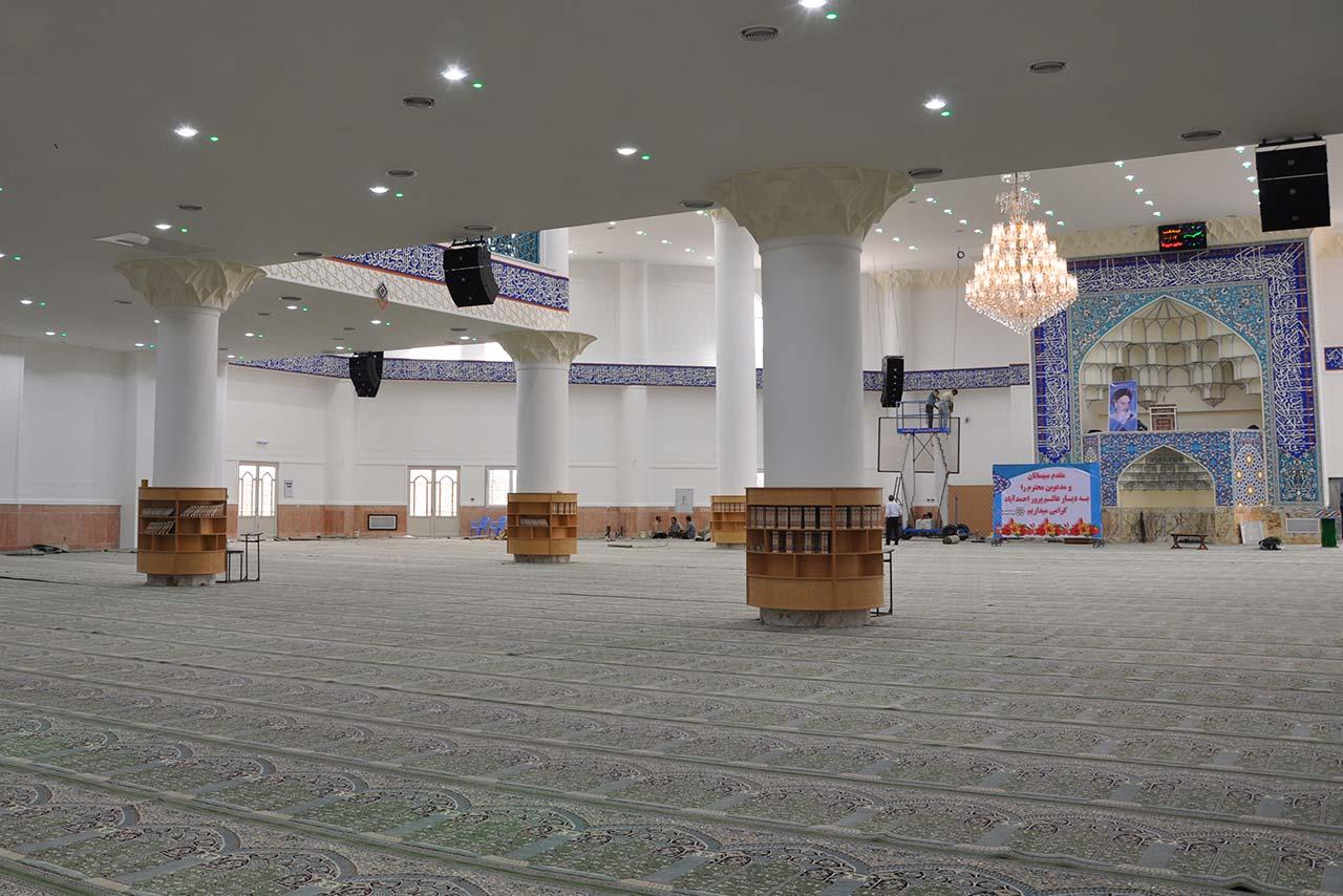 پروژه مصلی احمد آباد